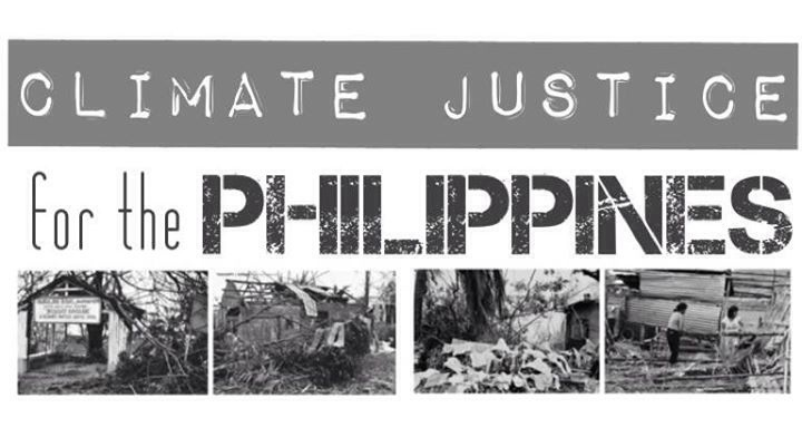 CLIMATE JUSTICE FOR THE PHILIPPINES.